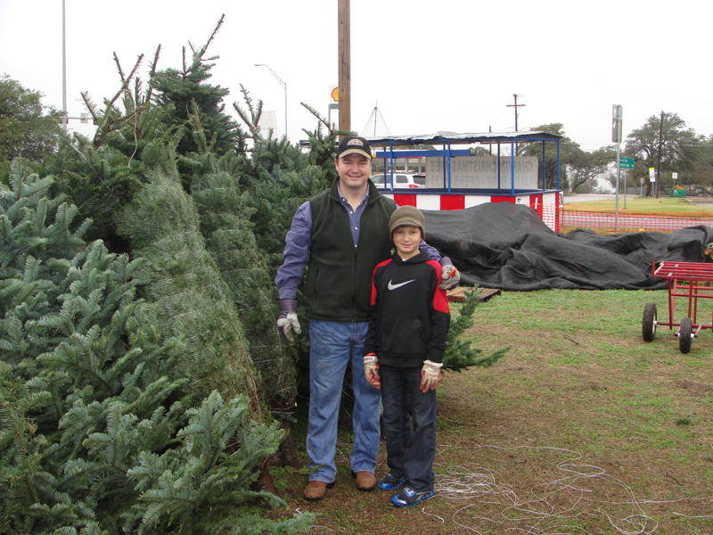 Deke and Son Colton Working to Make Christmas Better For Less Fortunate Kids