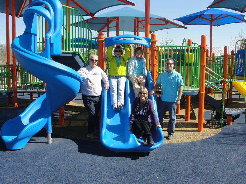 Round Rock Sertoma Members Join in Park Opening Celebrations